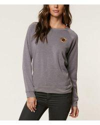 O'neill Sportswear Gray Cozy Camper Embroidered Sweatshirt