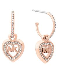 Michael Kors Multicolor Love Is In The Air Drop Earring
