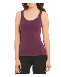 Yummie By Heather Thomson - Blue Seamless Shape 2-way Tank - Lyst