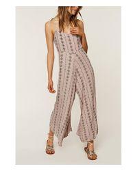 O'neill Sportswear - Multicolor Juls Print Jumpsuit - Lyst