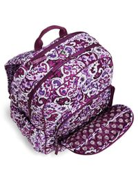 Vera Bradley Multicolor Campus Laptop Backpack