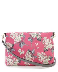 Antonio Melani - Blue Made With Liberty Fabrics Floral Cross-body Colorblock Bag - Lyst