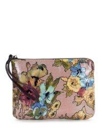 Patricia Nash - Multicolor Dusty Rose Collection Cassini Vintage Floral Wristlet - Lyst