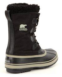 Sorel Black ® Men ́s Waterproof 1964 Pactm Nylon Boots for men
