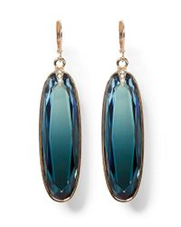 Vince Camuto - Blue Ombre Statement Stone Drop Earrings - Lyst