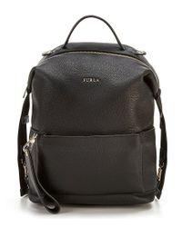 Furla - Black Dafne Avatar Backpack - Lyst