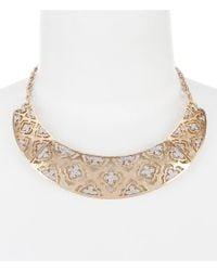 Belle By Badgley Mischka | Multicolor Quattrefoil Pav Collar Necklace | Lyst