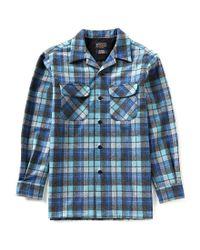 Pendleton - Blue Long-sleeve Board Shirt for Men - Lyst