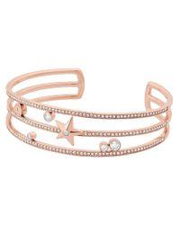 Michael Kors | Metallic Beyond Brilliant Celestial Cuff Bracelet | Lyst