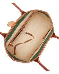 Dooney & Bourke - Natural Florentine Collection Large Clip Amelie Shoulder Bag - Lyst