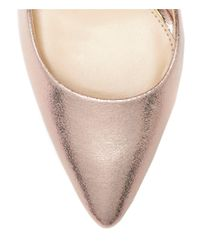 Jessica Simpson - Metallic Praylee Textile Shimmer Pointy Toe Pumps - Lyst