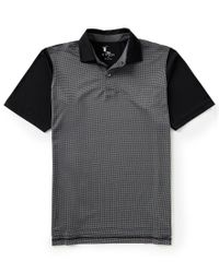 Fairway & Greene - Black Short-sleeve Into The Tooth Of The Wind Tech Jersey Polo for Men - Lyst