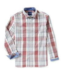 Tommy Bahama - Multicolor Big Island Plaid Long-sleeve Woven Shirt for Men - Lyst