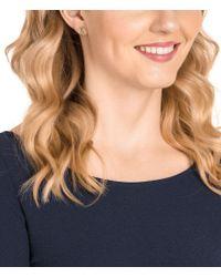Swarovski - Metallic Magnetic Stud Pierced Earrings - Lyst