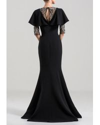 Saiid Kobeisy Black Long Mermaid Gown