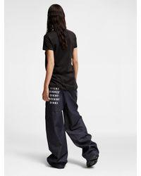 DKNY - Black #dxkxnxyx 'don't Knock New York' Tee - Lyst
