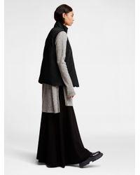 DKNY - Black Pure Zipper Placket Vest - Lyst