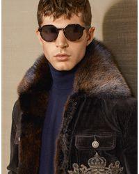 Occhiali Da Sole Angel di Dolce & Gabbana in Brown da Uomo