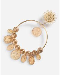 Dolce & Gabbana Metallic Ohrhänger