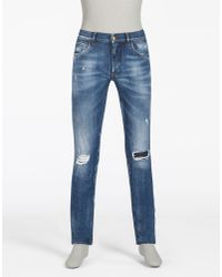 Dolce & Gabbana | Blue Classic Fit Jeans for Men | Lyst