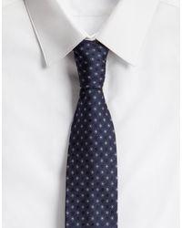 Cravatta Pala 6 Cm In Seta di Dolce & Gabbana in Blue da Uomo