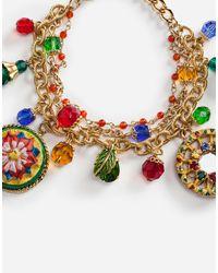 Dolce & Gabbana Metallic Cart Bracelet