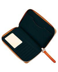 Dooney & Bourke Black Cambridge Zip Around Phone Wallet