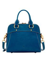 Dooney & Bourke Blue Florentine Cameron Satchel