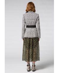 Dorothee Schumacher - Multicolor Offbeat Check Jacket Sleeve 1/1 - Lyst