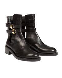Dorothee Schumacher Black Metal Coolness Boot