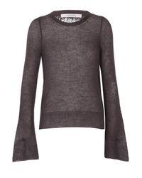 Dorothee Schumacher | Gray Gentle Vision Pullover O-neck 1/1 | Lyst