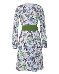 Dorothee Schumacher | Multicolor Geometric Merge Dress Sleeve 1/1 | Lyst