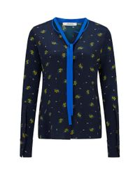 Dorothee Schumacher | Blue Cosmic Fantasy Blouse 1/1 | Lyst
