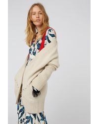Dorothee Schumacher - Natural Rebelious Companion Cardigan V-neck 1/1 - Lyst