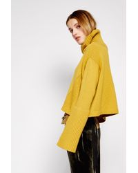 Dorothee Schumacher - Yellow Powerful Ease Pullover Turtleneck 1/1 - Lyst