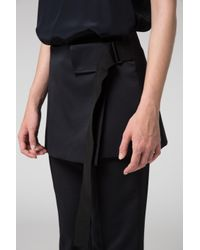 Dorothee Schumacher - Black Cool Ambition Classic Loose Fit Pants + Peplum - Lyst