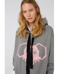 Dorothee Schumacher Gray Dogwalk Hoodie Sweatshirt 1/1