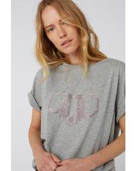 Dorothee Schumacher Gray Dogwalk Shirt 1/4