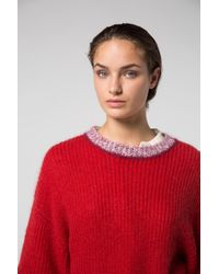 Dorothee Schumacher - Red Take Off Oversized Sweater - Lyst