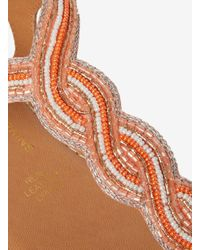 Dorothy Perkins Multicolor Coral 'bali' Beaded Sandals