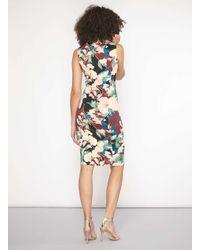 Dorothy Perkins - Tall Red Zip Front Scuba Dress - Lyst