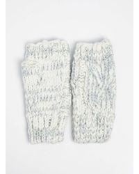 Dorothy Perkins   Multicolor Cream Fingerless Gloves   Lyst