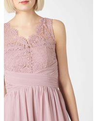 Dorothy Perkins Showcase Pink 'josie' Lace Prom Dress