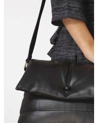 Dorothy Perkins Black Padded Crossbody Bag