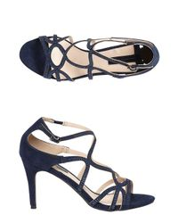 Dorothy Perkins - Blue Navy 'rebekah' Gem Swirl Sandals - Lyst