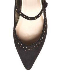 Dorothy Perkins Black 'holly' Studded Flat Shoes