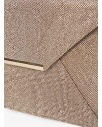Dorothy Perkins - Metallic Gold Shimmer Envelope Clutch Bag - Lyst