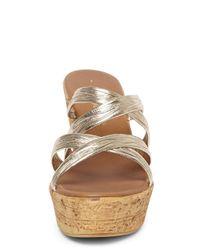 Dorothy Perkins Metallic Gold 'rosita' Comfort Wedges