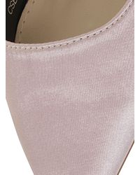 Dorothy Perkins Chi Chi London Pink Satin Point Heeled Court Shoes