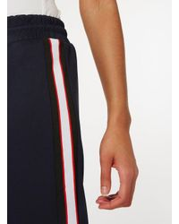 Dorothy Perkins Navy Blue Tapered Joggers
